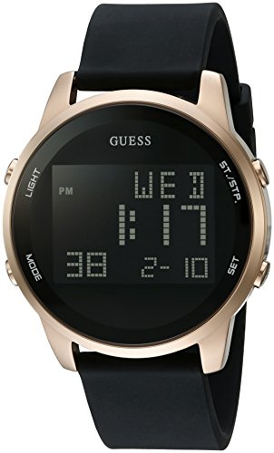 GUESS U0787G1 Gold Tone Stainless Digital