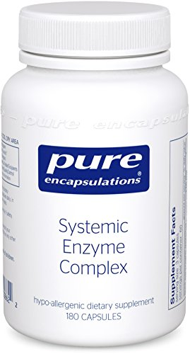 Pure Encapsulations - Systemic Enzyme Complex - Synergistic Formula to Support Muscle, Joint and Tissue Health* - 180 Capsules by Pure Encapsulations