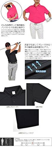 【サンタリート】 Santareet 吸汗 ドライ 消臭 形状安定 機能性素材 ゴルフ ポロシャツ CA-UA5910