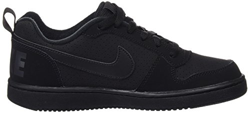 Nike Black Scarpe Borough GS Low Bambino Black Nero da Basket Black Court qqwC1WZrx4