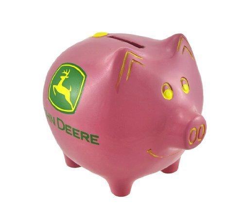 M. CORNELL IMPORTERS Pink Piggy Bank