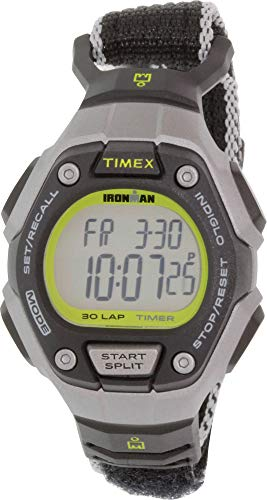 Timex Unisex Ironman Classic 30 Black/Silver One Size