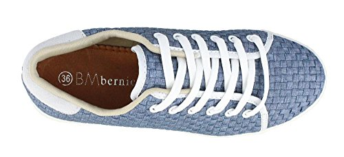 Light Jeans up Bernie Lace Mev Shoes Daphne Women's qw04CUY