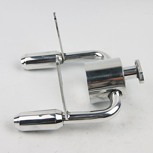 - Duel Tuned exhaust Pipe For KING MOTOR Rovan HPI Baja 5B 5SC SS KM001 2 T1000
