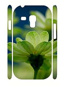 Cool Custom Pretty Floral Pattern Hard Plastic Samsung Galaxy S3 Mini I8200 Cover Case