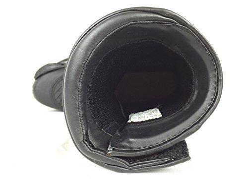 Zwart 5903 Leren Motorlaarzen Waterdicht Reflecterend 3x Membraan