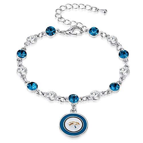 - Pro Specialties Group NFL Jacksonville Jaguars Two Tone Crystal Bracelet