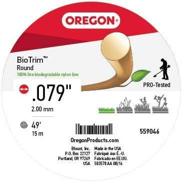 Amazon.com: Oregon biodegradables Nylon línea, 2.0 mm x 15 m ...