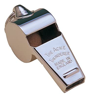Acme Thunderer Metal Whistle by Champion Sports
