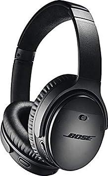 Bose QuietComfort 35 (Series II) Wireless Headphones, Noise Cancelling, Alexa Voice Control - Black I Worldwide Version (Renewed)