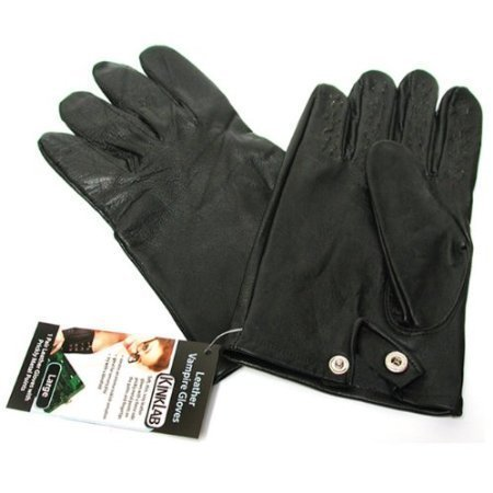 Kink Lab Rouge Vampire Gloves Black (Medium) -