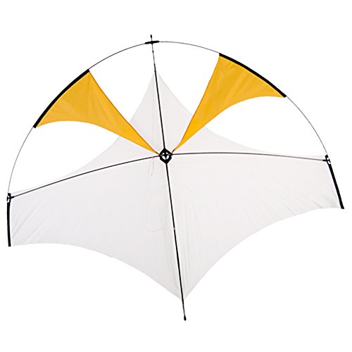 Flying Wings Emong Glider Kite Yellow ()
