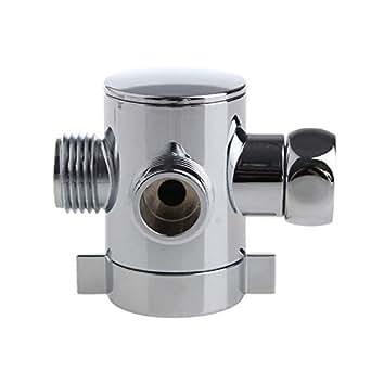 3 Way T-Adapter Valve for Toilet Bidet Shower Head