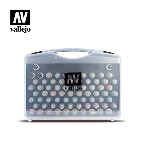 Vallejo Game Color Box Set (72 Colours + 3 Brushes + Carry Case) product image