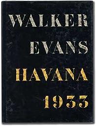 Havana, 1933 par Walker Evans