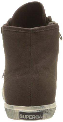 Superga 2224-COTDW S0070K0 - Zapatillas de tela para mujer Marrón (C13 Dk Coffee)