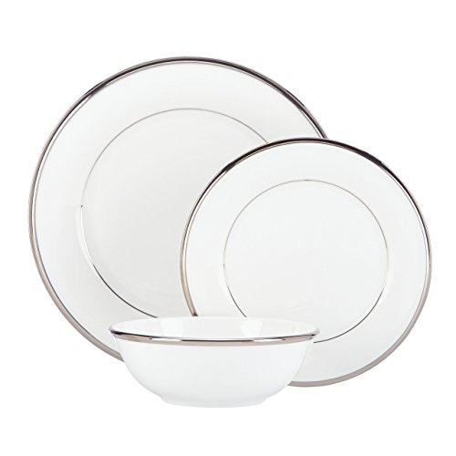 - Lenox Solitaire 3-Piece Place Setting, White