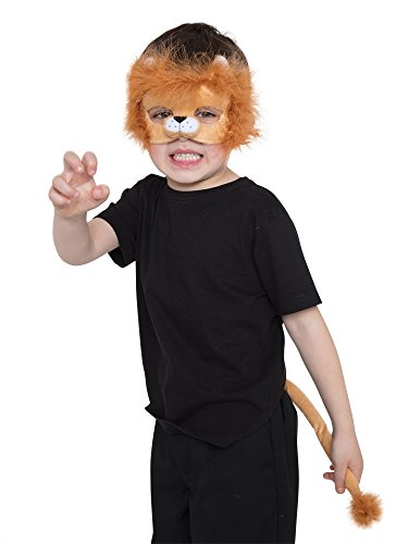 Bristol Novelty DS196 Lion Set (Mask and Tail), One Size