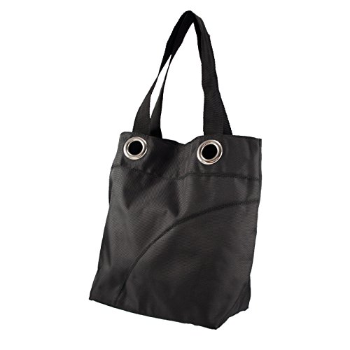 - Littlearth Color Sheen Tote, Black