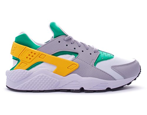 NIKE Air Huarache Mens Running Trainers 318429 Sneakers Shoes (US 7, Lucid Green University Gold Wolf Grey 302)