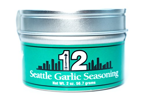 Two Snooty Chefs Seattle Seasonings, Garlic, Large by Two Snooty Chefs