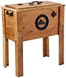 BACKYARD EXPRESSIONS PATIO · HOME · GARDEN 905469 45 Quart Outdoor Cooler for Parties, Rustic Brown