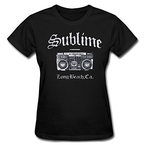 Ptshirt.com-19133-CYKK Women\'s Sublime Band Long Beach T Shirt-B01C28V7FY-T Shirt Design