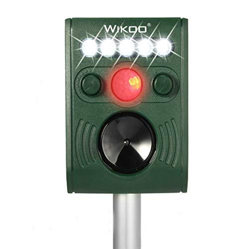Wikoo Ultrasonic Solar Powered Animal and Pests