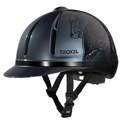 Troxel Legacy Antiqus Helmet, Smoke, Small