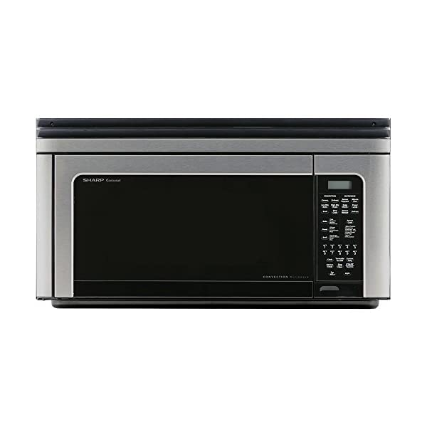 1.1 Cu. Ft. 850W Over-The-Range Convection Microwave Oven in Stainless Steel 1