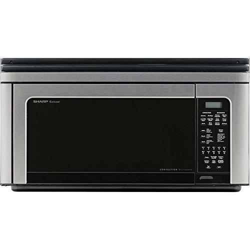 "Sharp Carousel R-1881LSY Convection Microwave Oven - Single - 8.23 gal Capacity - Convection, Microwave, Baking, Roasting, Broiling - 11 Power Levels - 850 W Microwave Power - 13"" Turntable - 120 V AC"