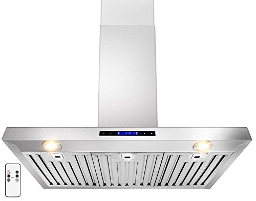 GOLDEN VANTAGE 36' Wall Mount Stainless Steel Range Hood With Remote GV-Z01-36