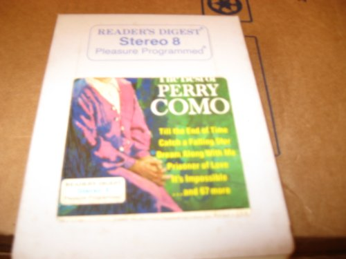 The Very Best of Perry Como Tape 3 ( 8 Track Tape) (Perry Como The Very Best Of Perry Como)
