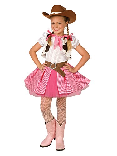 Pink Cheerleader Child Costume, 8-10 MED -