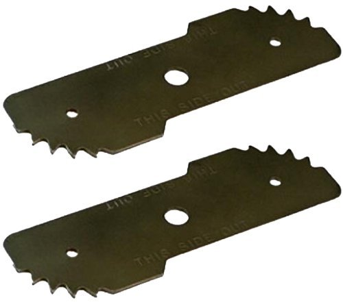 (Black & Decker LE750 Edger Replacement (2 Pack) OEM Edger Blade # 243801-00-2pk)