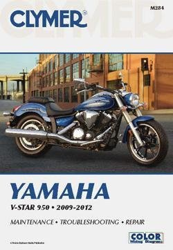 2009 Yamaha XVS950 V Star 950 Yamaha V-Star 950 Manual, Manufacturer: Clymer, MANUAL YAM VSTAR 950 09-12
