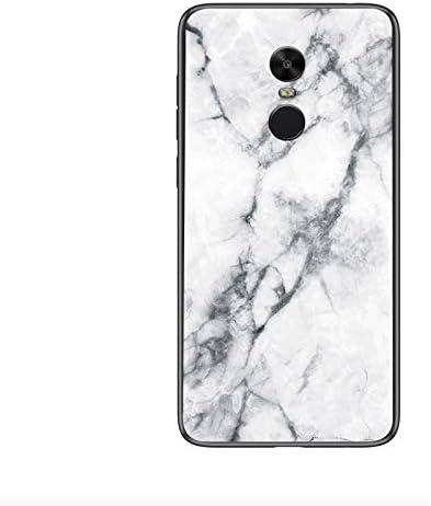 Funda para Xiaomi Redmi Note 4 Mármol Vidrio Templado de Cover ...
