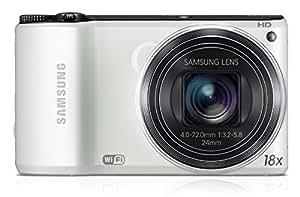 """Samsung WB 200F - Cámara compacta de 14.2 Mp (pantalla de 3"""", zoom óptico 18x, zoom digital 5x), blanco [importado]"""
