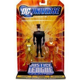 Mattel DC Universe Justice League Unlimited Fan Collection Cheetah, The Shade & Lex Luthor Action - Justice League Unlimited Mattel