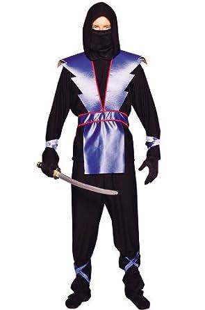 RG Costumes Disfraces RG 77039 Azul Ninja Traje adolescente ...