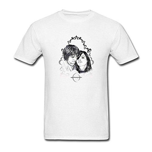 Eazy Circles - YLINFUN Men's A Perfect Circle T-shirt Size L White