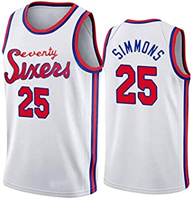 Ben Simmons 25# Baloncesto Jersey, Hombres de Portland Filadelfia ...
