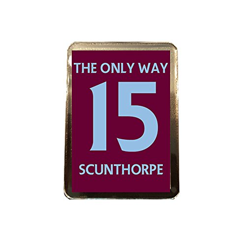 fan products of Scunthorpe United F.C - The Only Way 15 Fridge Magnet