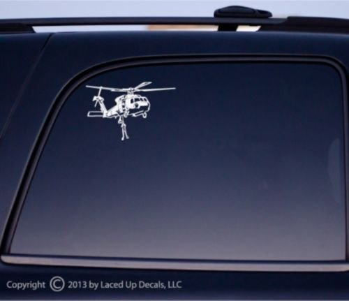 Seahawk Helicopter Rescue Vinyl Decal