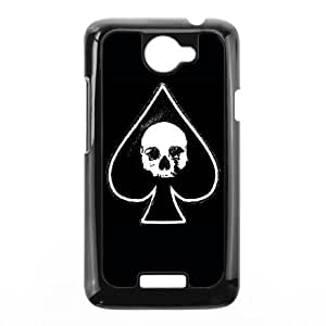 HTC One X Cell Phone Case Black Ace of spades Zgbg