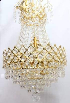 Buy Vikas Light 6652 Antique Design Crystal Hanging Ceiling Light Chandelier Crystal K9 Orginal Online At Low Prices In India Amazon In