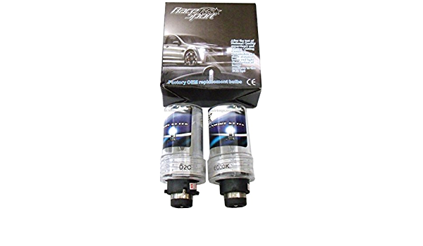 Pair Race Sport D2-6K-SB-RB Replacement Bulb