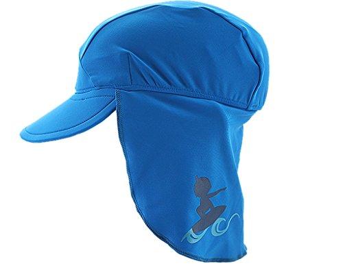 BONAMART ®Baby Kinder Mädchen Junge Sommermütze Sonnenhut Neck Schutzkleidung UV50+