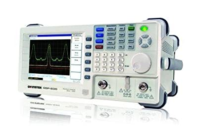 3GHz Spectrum Analyzer with Tracking Generator