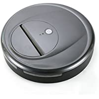 Vacuum Cleaner Robot, FINE Dragon Automatic Robotic Vacuum Cleaner High Suction Cleaning for Hard Floor and Thin Carpets (Gray)